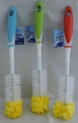 1 NEW Dish Bottle Glass Cleaner Washing Dishes Sponge Soft B
