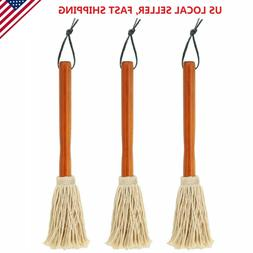 """3 Pack 12"""" BBQ Basting Mops for Roasting Grilling Cooking or"""