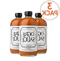 BBQ sauce 3 Pack - Ogre Sauce - All-Purpose Craft Barbecue S