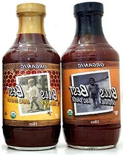 Bill's Best Organic BBQ Sauces Mild 2 Pack