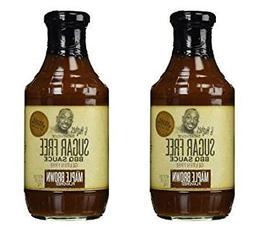 G Hughes BBQ Sauce SugarFree Maple Brown 18 oz
