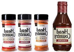 Head Country BBQ KIT: BBQ Sauce plus Original, Sweet & Spicy