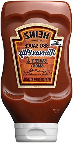 Heinz BBQ Sauce, Sweet & Smoky Kansas City Style BBQ Sauce,