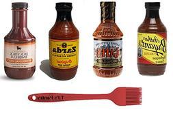 Kansas City BBQ Sauce Variety Pack  + TJs Pantry Silicone Ba