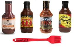 Kansas City BBQ Sauce Variety Pack  + TJs Pantry Silicone Ba