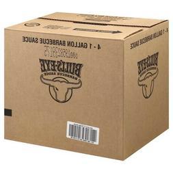 Sauce Bulls Eye Honey Smoke Barbecue 4 Case 1 Gallon