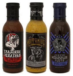 Stone Brewing Co. Barbecue Sauce Box of 3