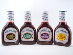 Sweet Baby Ray's Variety 4 Pack-Original BBQ Sauce-Honey BBQ
