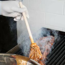 "BBQ Barbecue Mop Brush Sauce Glaze 12"" Free Shipping USA Onl"