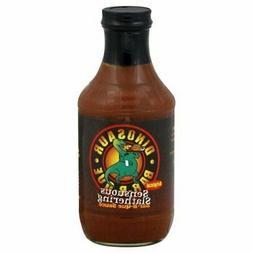 Dinosaur Sensuous Slathering BBQ Sauce, 19 Ounce