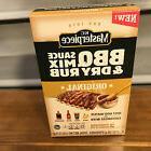 3 Boxes KC Masterpiece Original Barbecue Sauce Mix & Dry Rub