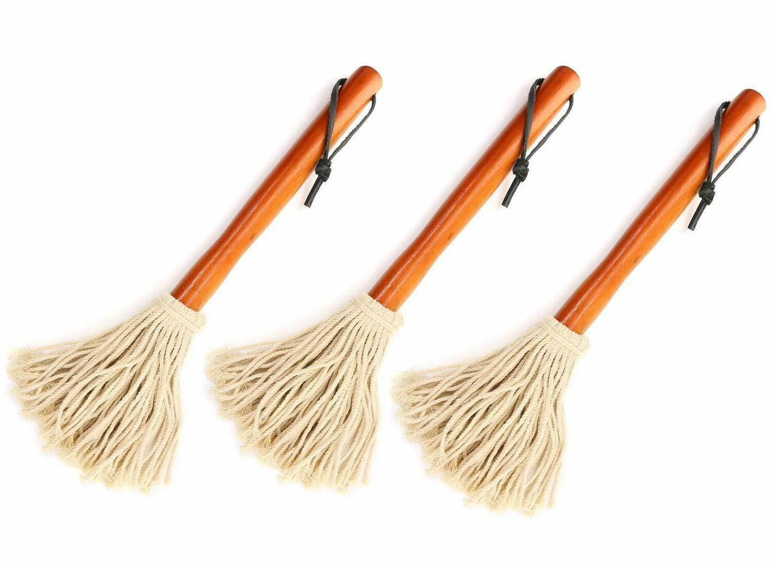 "3 Pack 12"" Basting Mops Grilling or"