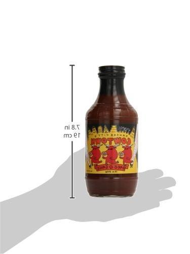 Cowtown Original BBQ Sauce, 18