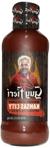 Guy Fieri BBQ Sauce, Kansas City, 19 Ounce