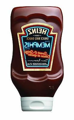 HEINZ BBQ Sauce, Sweet and Spicy Memphis, 475ml, 1 Count - I