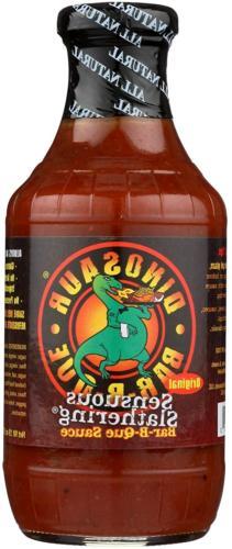 Dinosaur BBQ Sensuous Slathering Sauce  Glass