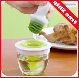 Kitchen Oil Bottle Pot Container Anti Oil Leak with Silicone