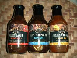 ONE SET PRIVATE SELECTION  REGIONAL FLAVORS BARBECUE SAUCES